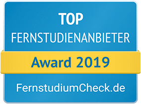 Fernstudiumcheck.de - TOP Fernstudienanbieter 2019 - Award